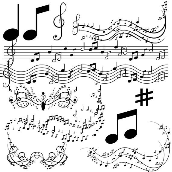 Musical clipart music program #7