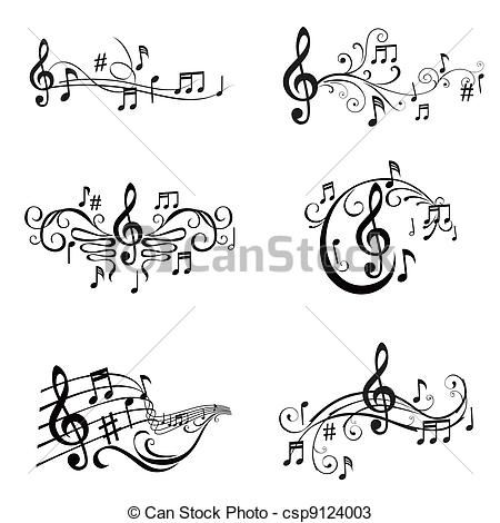 Musical clipart music score Notes Music Music And notes