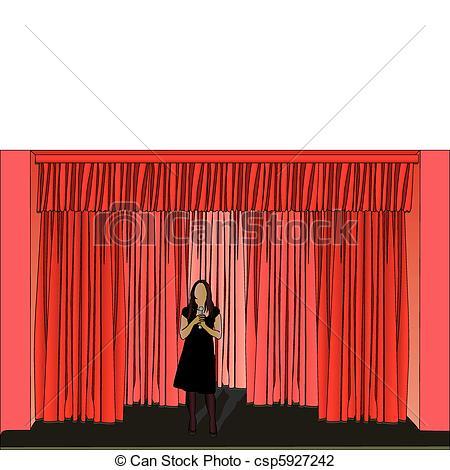 Illustration of stage Illustration Vector