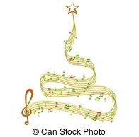 Musical clipart winter music #12
