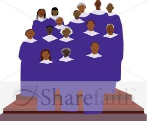 Clipart Choir Church Gospel Clipart