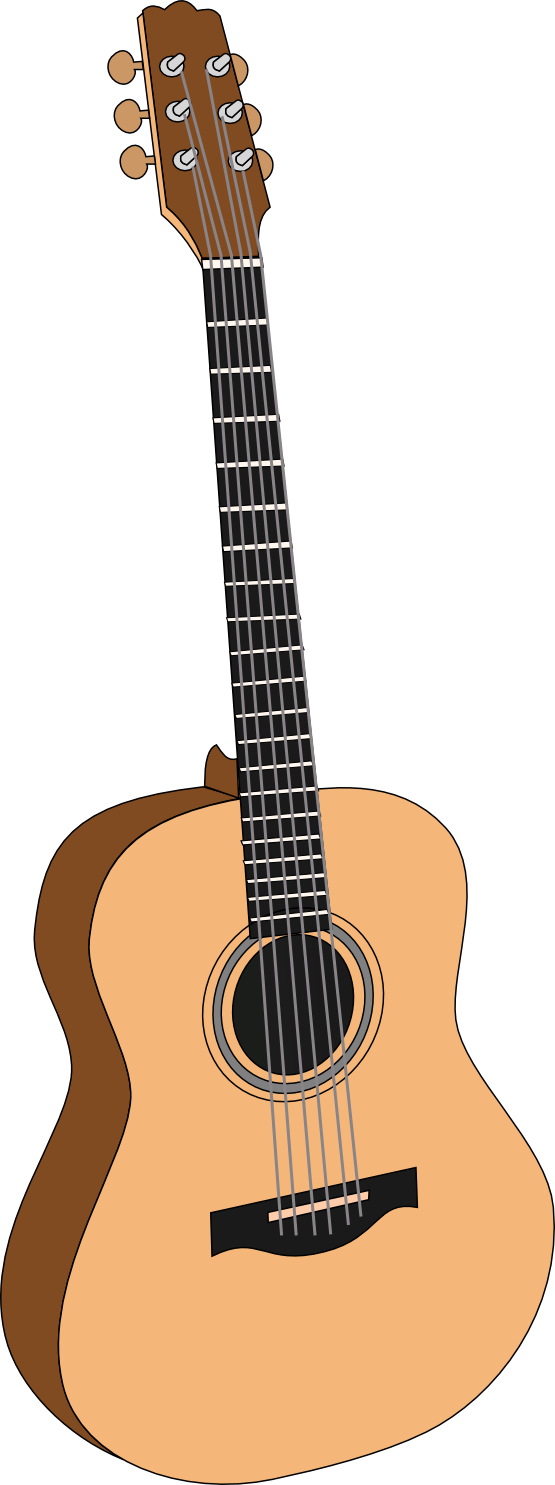 Background clipart guitar #2