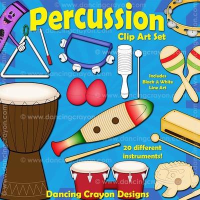 Musical clipart music class Percussion Clipart: clipart Music Percussion