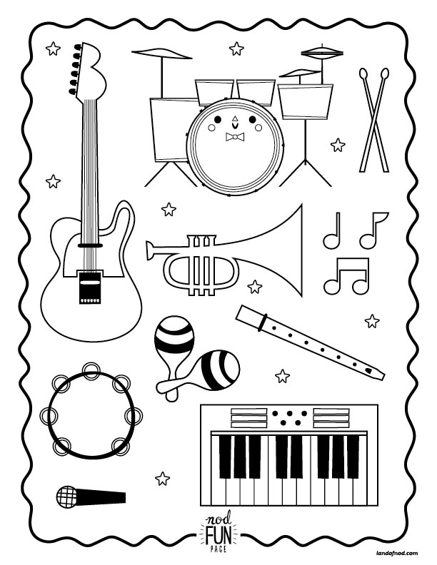 Musician clipart music lesson Nod for Musical Kiddos Page