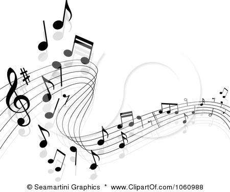 Sheet Music clipart band music #2