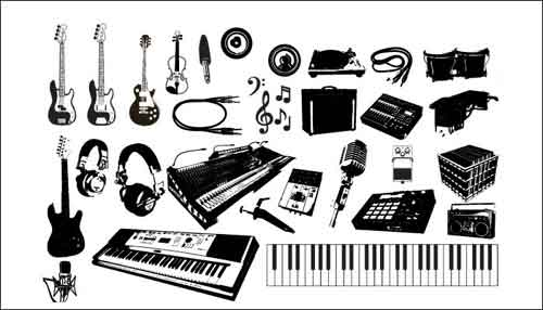 Microphone clipart pop music Download art Notes Musical 32