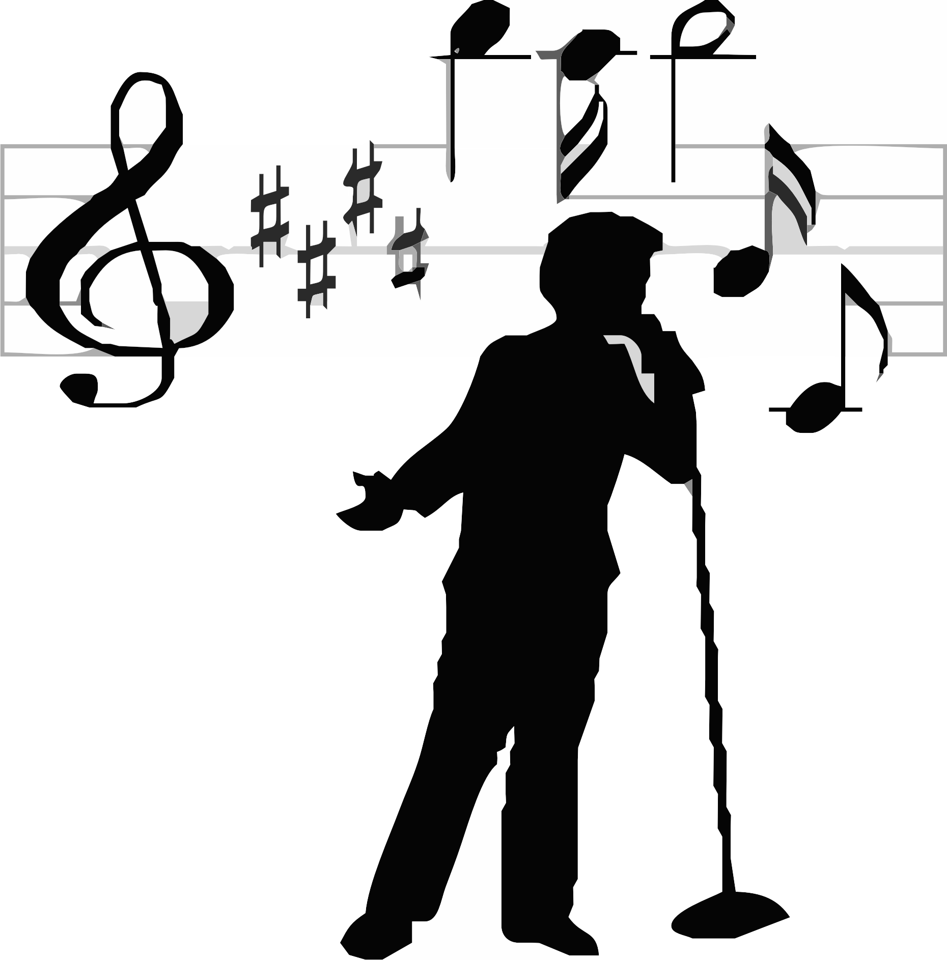 Singer clipart transparent Icons at compositions hear cdbaby