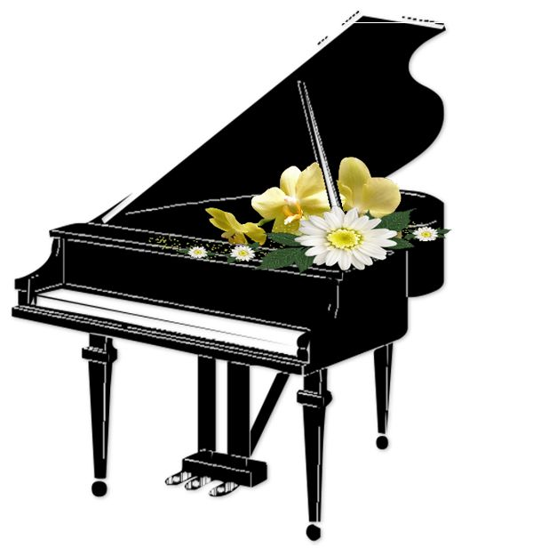 Piano clipart piano recital Christmas images Music Pinterest graphics