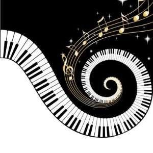 Musician clipart piano notes Images 2 Pinterest piano Keyboard