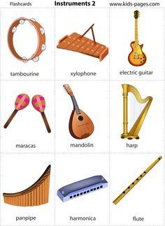 Musician clipart preschool music Instruments! Flash can be Wonderful