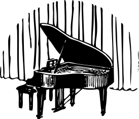 Piano clipart piano recital Piano Recital cliparts Clipart Recital