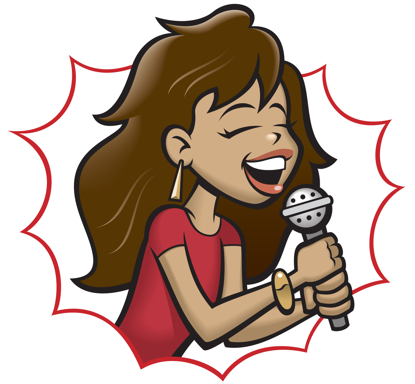 Singer clipart singing contest Clip music collection Art Savoronmorehead