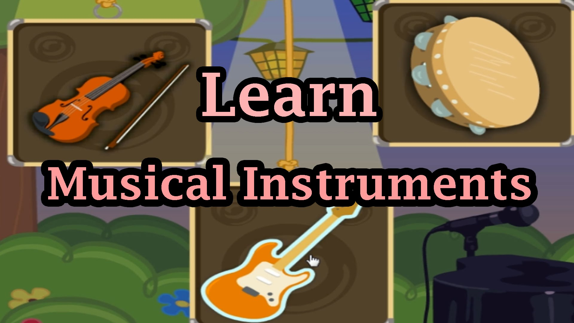 Noise clipart preschool music Learning Instruments Learning  Sounds