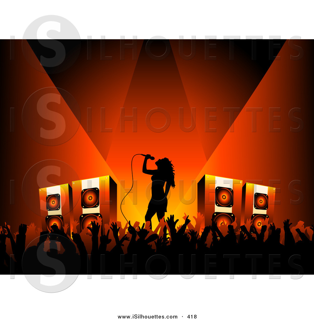 Stage Their cps Silhouetted Music