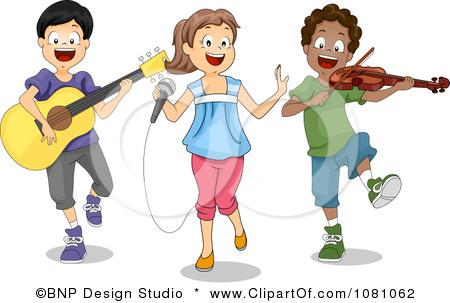 Musician clipart talent show Clip talent talent Charter art
