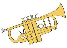 Saxophone clipart trumpet Band clip Download Music Digital
