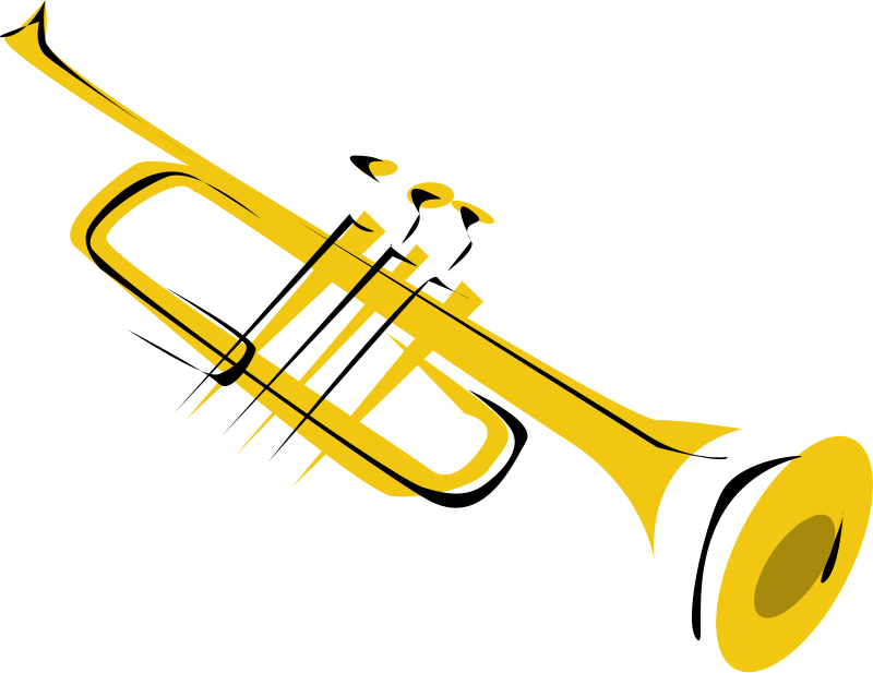 Saxophone clipart trumpet 14 Music KB Royalty Trumpet02_Music_Clipart_Pictures