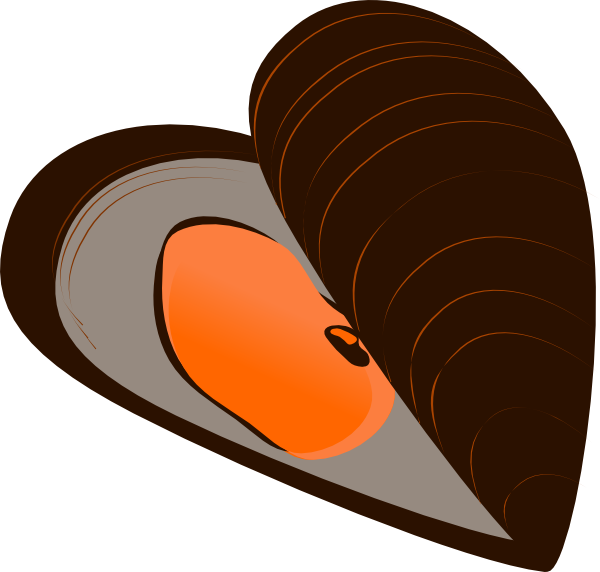 Mussels clipart happy clam At Download this Mussel Clip