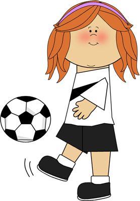 On 2 voetbal Girl meisje