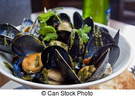Mussels clipart shellfish Beer Pairing and classic