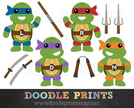Mutant clipart Digital Images Ninja Art TMNT