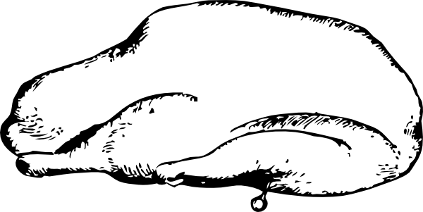 Mutton clipart Roast Goose clip com vector