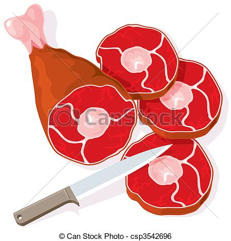 Beef clipart raw meat Vector raw raw vector raw