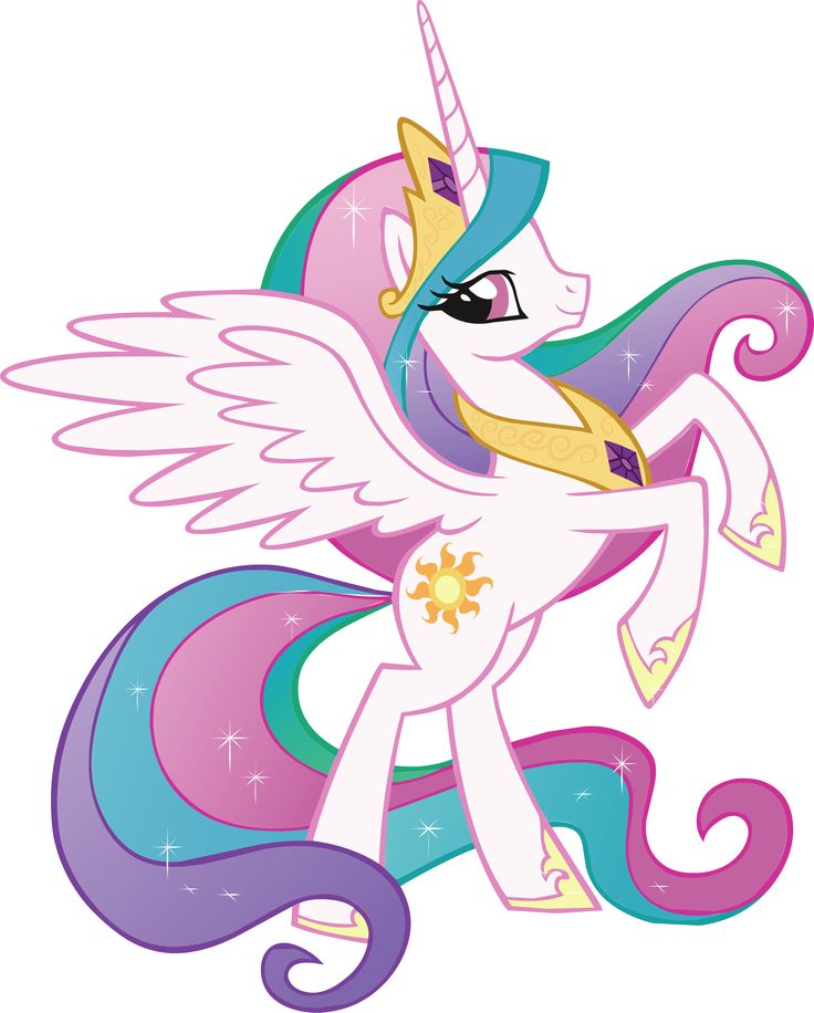 My Little Pony clipart animated WALL Pony celestia about Details