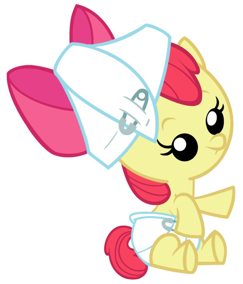 My Little Pony clipart apple bloom Baby bloom baby my my