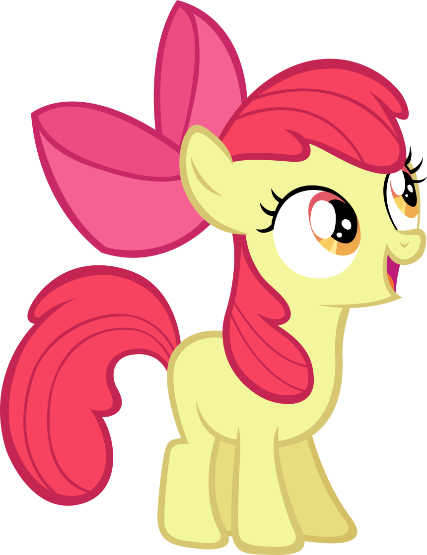 My Little Pony clipart apple bloom Loops (My Apple Apple powered