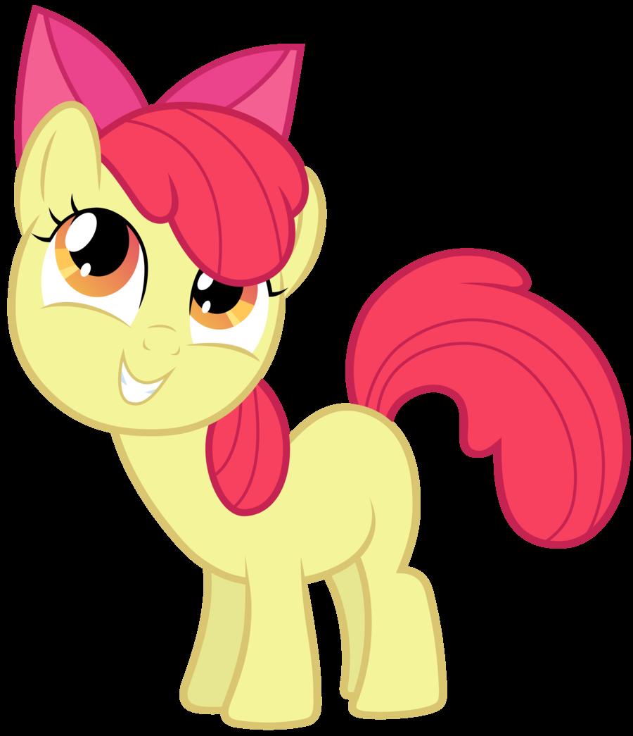 My Little Pony clipart apple bloom FloppyChiptunes (v2)  Apple MLP: