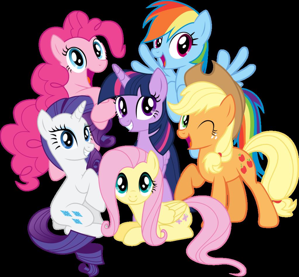 My Little Pony clipart best friend All Mane flattershy Magic Applejack