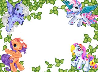 My Little Pony clipart border Http://montagempsd Cakes Little My images