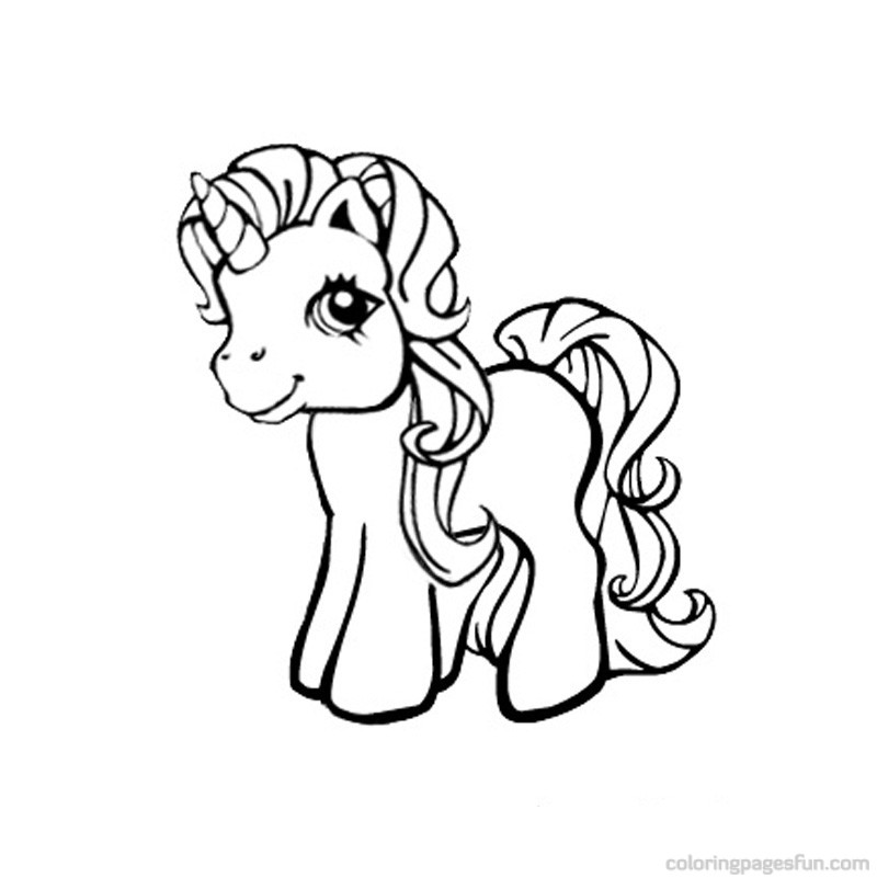 My Little Pony clipart color Coloring Coloring Pony Free Little