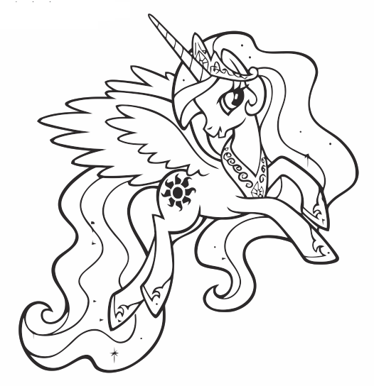 My Little Pony clipart color Pony Little da Little www