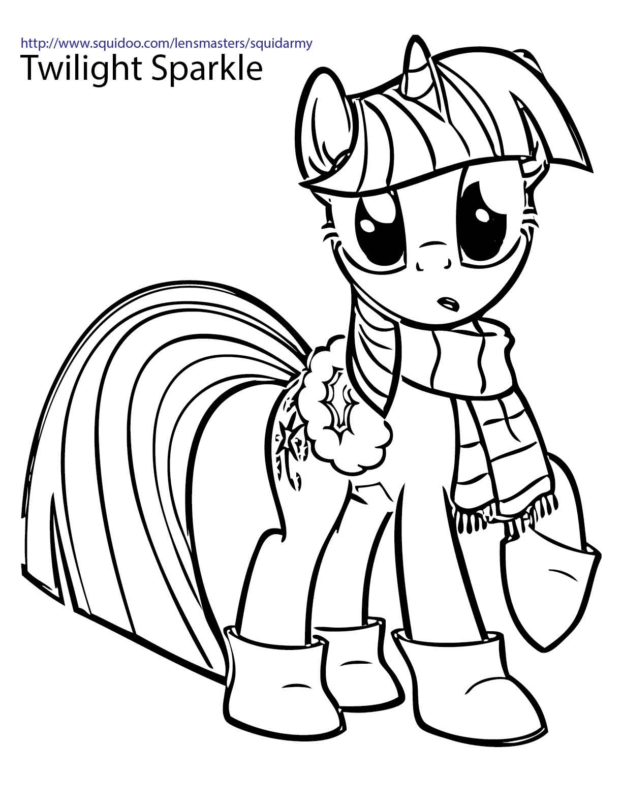 My Little Pony clipart coloring book Pony Coloring Clipart Images Little