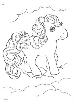My Little Pony clipart coloring book Page My Pony and