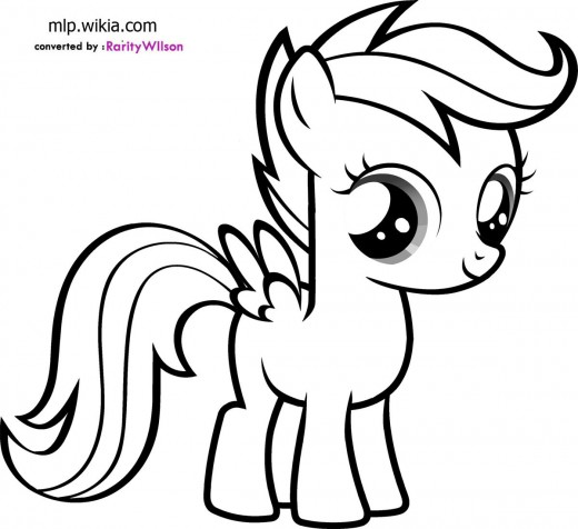 My Little Pony clipart colouring page Pony pages pony Coloring Little
