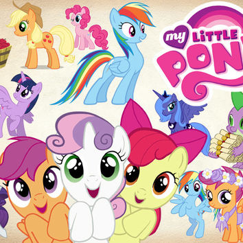 My Little Pony clipart digital Little Etsy on PNG Clipart