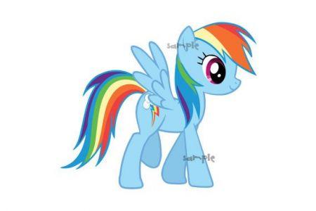 My Little Pony clipart digital Pony Digital Dash My art