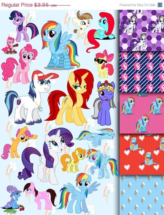 My Little Pony clipart digital My Clipart pony by pony