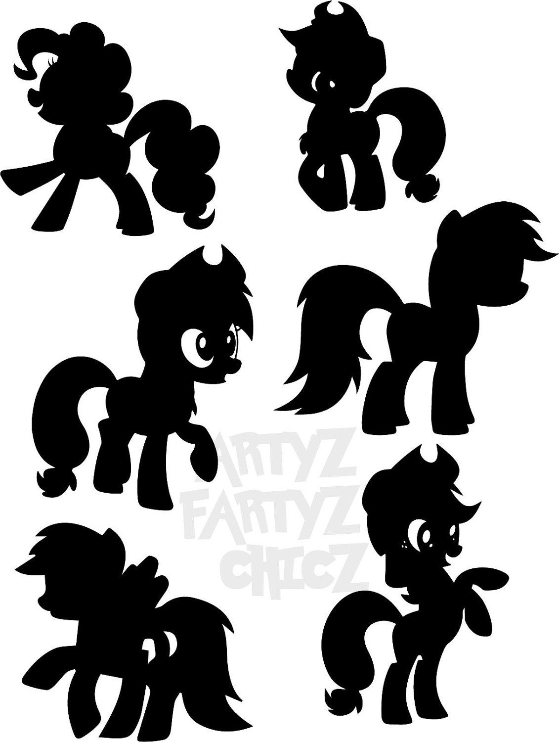 My Little Pony clipart digital A My file Pony is
