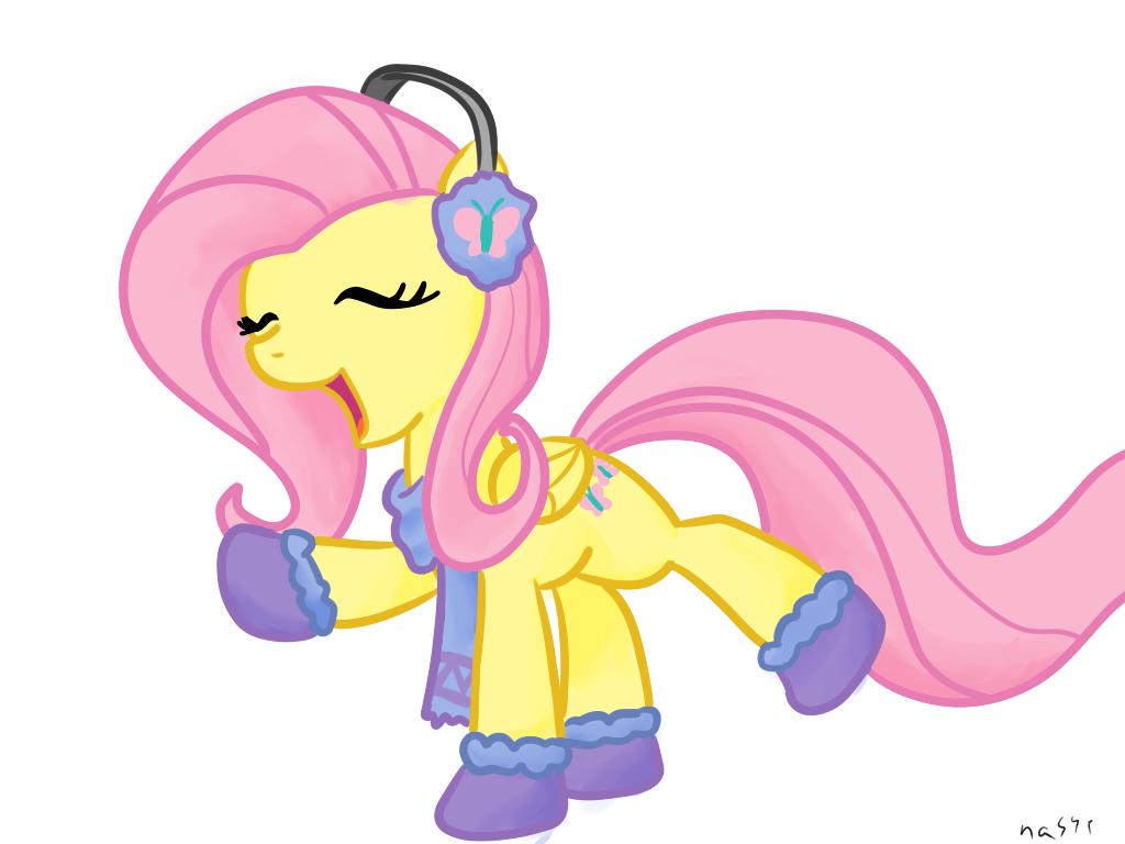 My Little Pony clipart flutter Calm Sticker MLP Daily Stuff!: