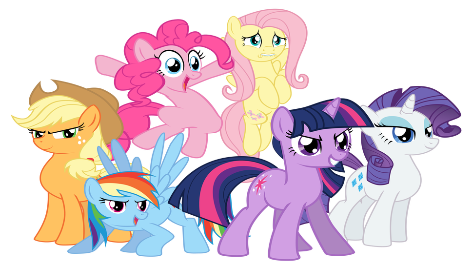 My Little Pony clipart group My Character in Play Little