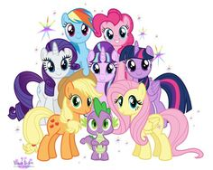 My Little Pony clipart group Finale 7 My PonyMlpSearch Magic