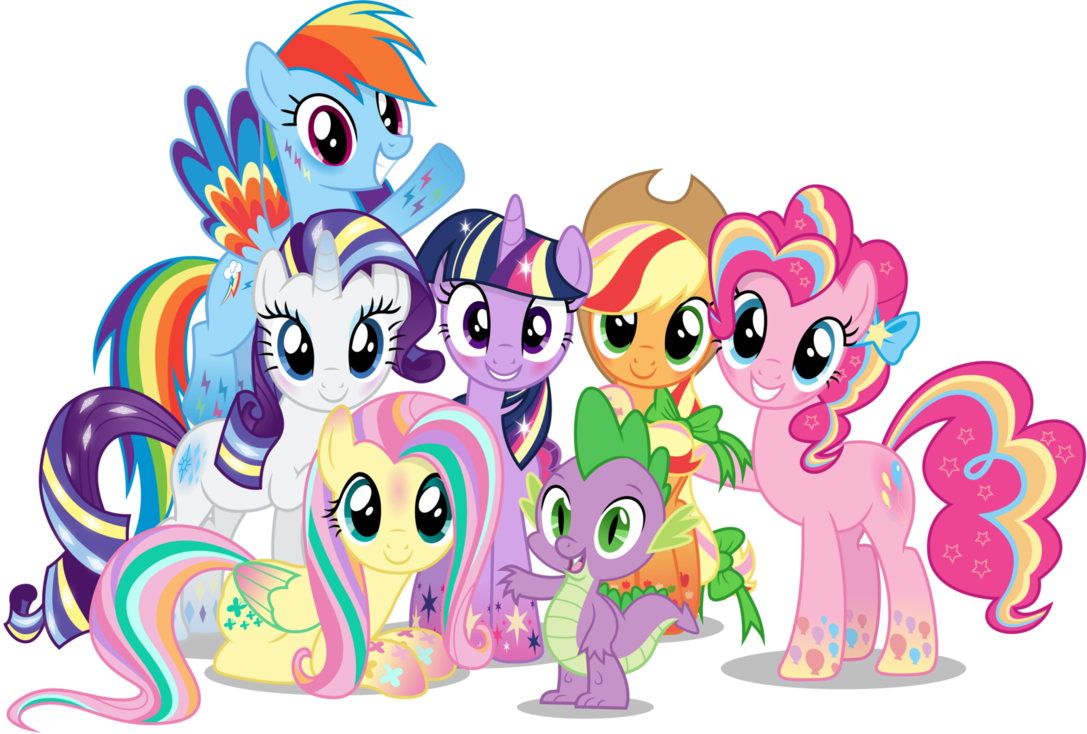 My Little Pony clipart group Now  Stuff!: Daily Release