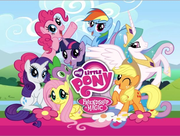 My Little Pony clipart group Group Ponies Hub Network Courtesy