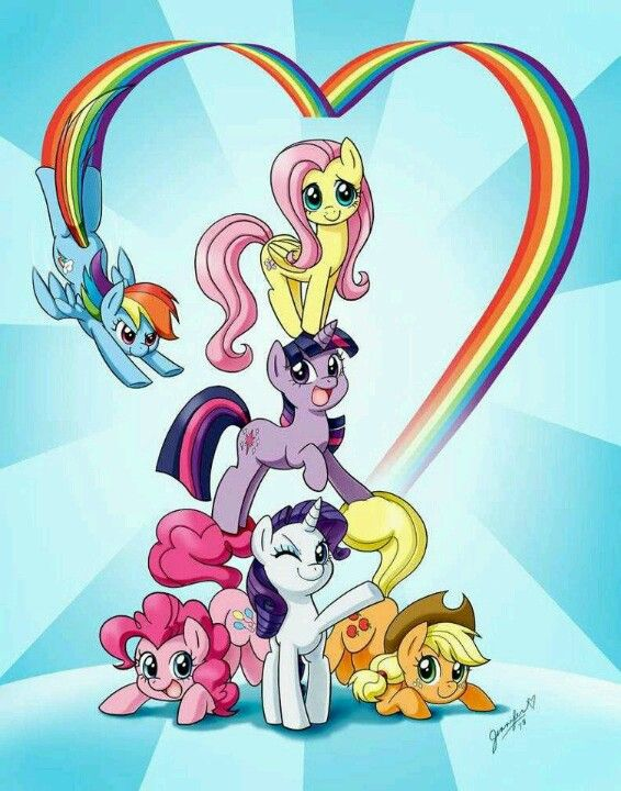 My Little Pony clipart group friend On of Pony: Magic ideas