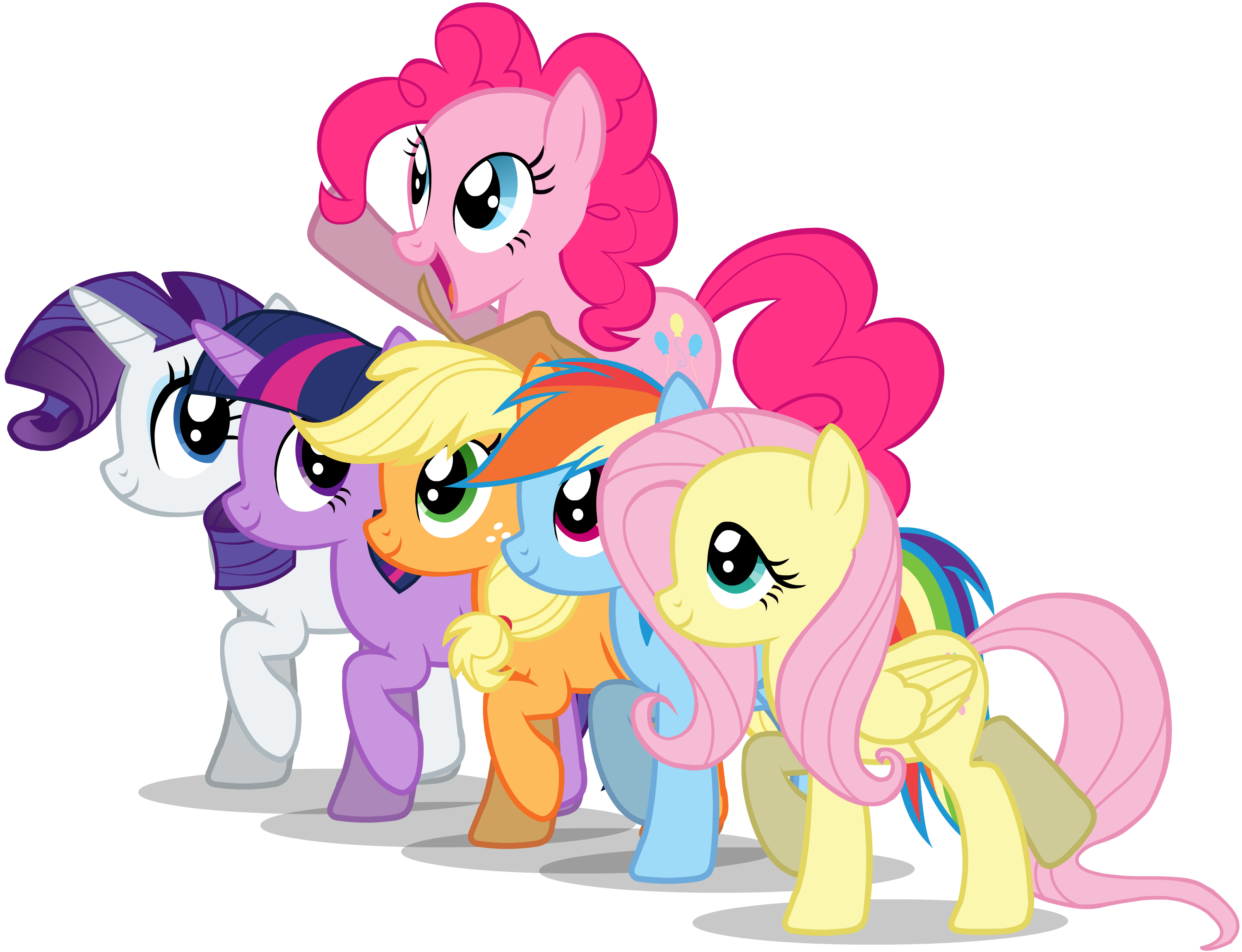 My Little Pony clipart group friend Best Pin on mlp about