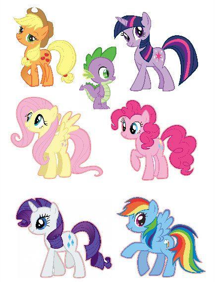 My Little Pony clipart group friend Pinterest Set Pony Magic ideas